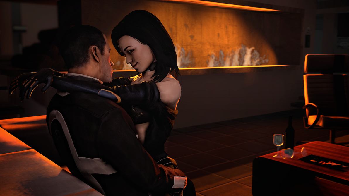 3d miranda lawson hot dancing mass effect 8
