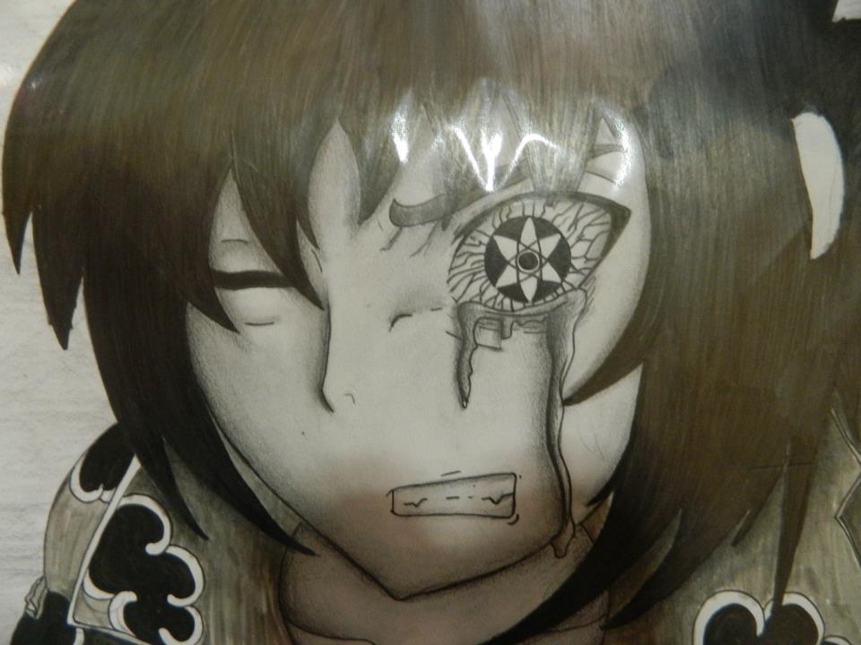 Sasuke Uchiha Sharingan Drawing