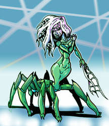 Arachnid Human-Mimic