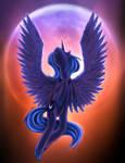 Moon rise - Princess Luna