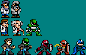 The Protomen Characters by T0misaurus