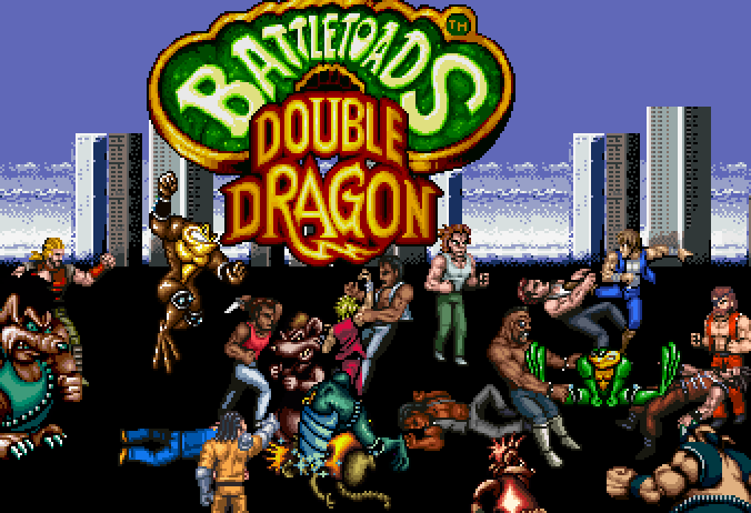 Battletoads And Double Dragon New By T0misaurus On Deviantart
