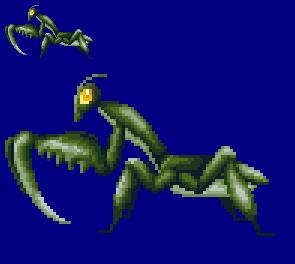 Kamacuras sprite by T0misaurus