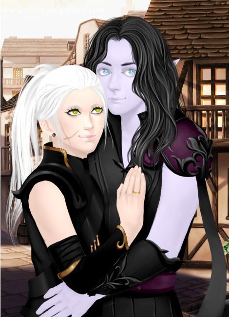 Aida and Zander (Rinmaru's Ascension) by roxieroo1 on ... Zander Ascension