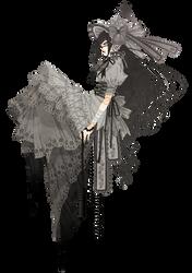 Render - Anime Girl Lolita by Pru-PruWings