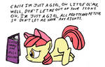 Applebloom: Just A Girl