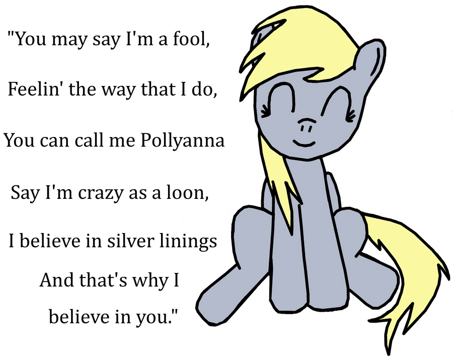 Lyric i believe in you lyrics : Derpy: I Believe In You by Closer-To-The-Sun on DeviantArt