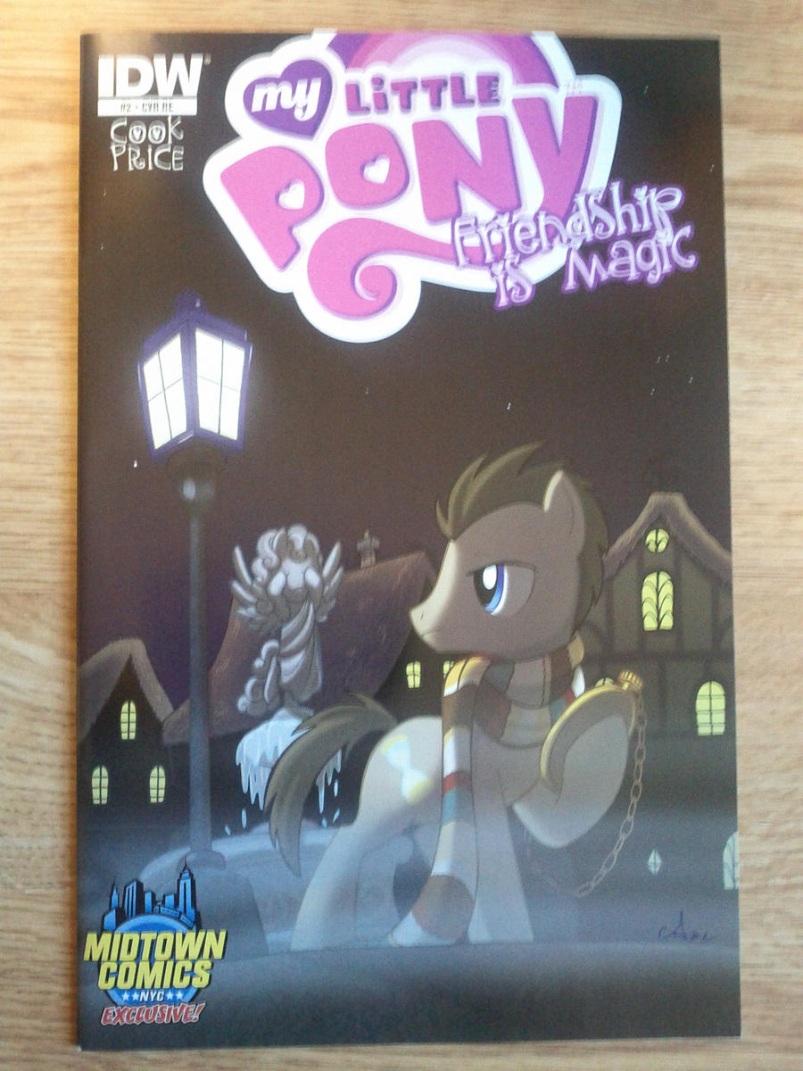 MLP Comic #2 Cover Midtown Exclusive by Closer-To-The-Sun