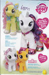 Build-A-Bear Ad feat. Rarity, S. Belle, and Scoots