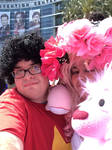 Steven And Rose Share A Selfie with Lion