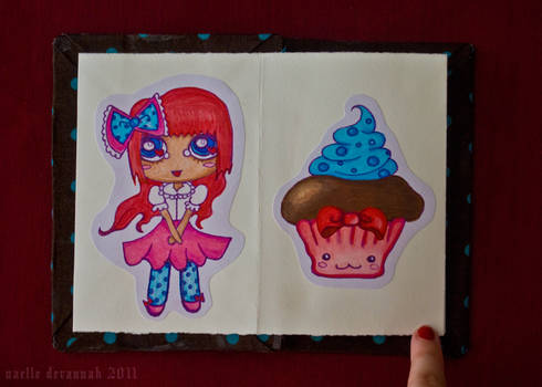 Chocolate Girls: pages 1 and 2