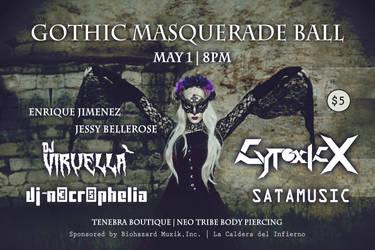 Gothic Masquerade Ball 2015 by uvita