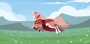 Dashing Through the Fields