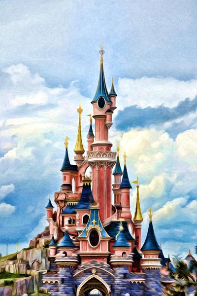 le chateau de la belle au bois dormant by disneytitch on. Black Bedroom Furniture Sets. Home Design Ideas