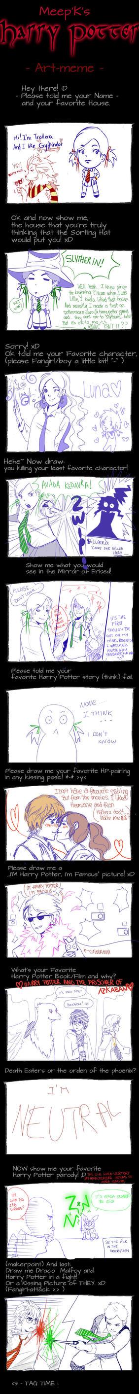 Harry Potter Meme by trollera