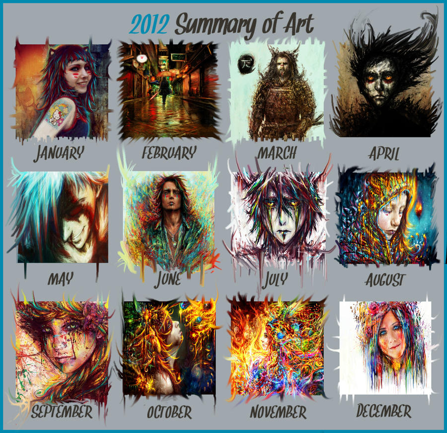 2012 summary of art by Ururuty