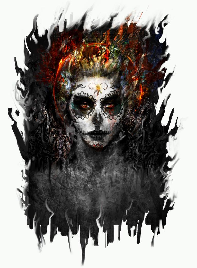 la muerte by Ururuty