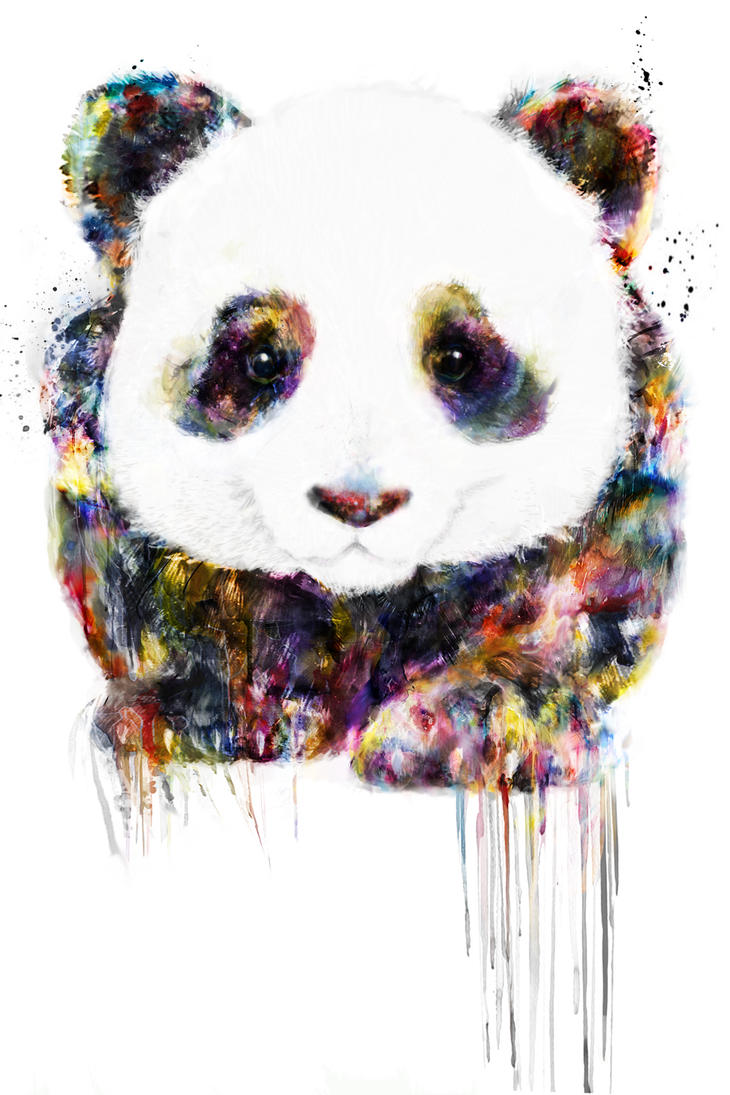 panda by ururuty on deviantart