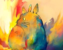 My Neighbor Totoro by Ururuty