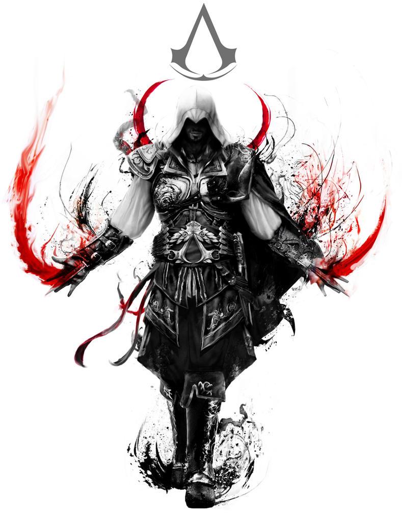 Assassin's Creed Ezio by Ururuty on DeviantArt
