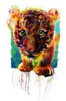little tiger by Ururuty