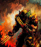 Wolverine by Ururuty
