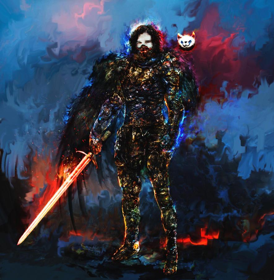 Jon Snow by Ururuty