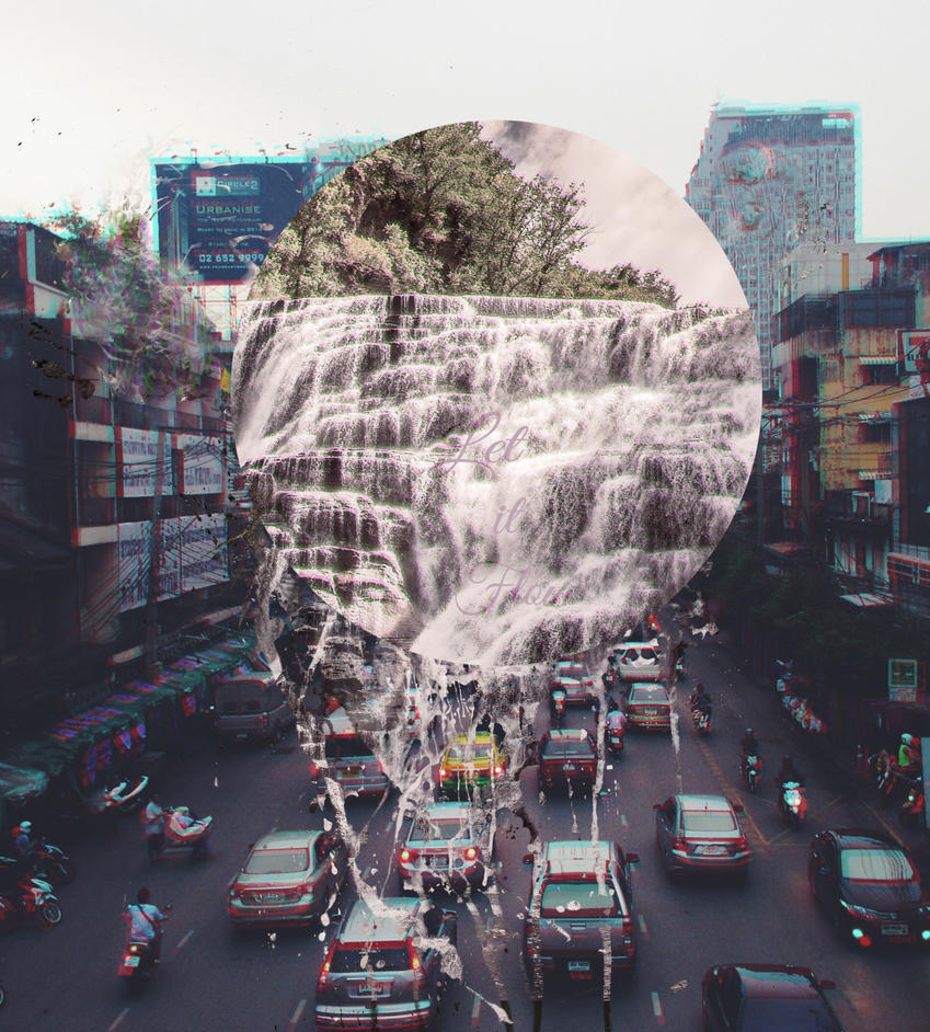 let it flow by Ururuty