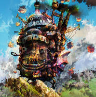 howls moving castle by Ururuty