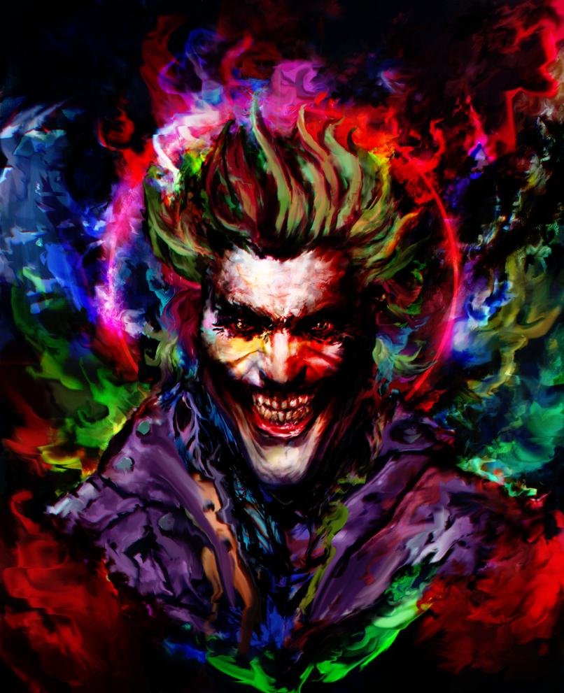 Deviantart Wallpaper: Joker By Ururuty On DeviantArt