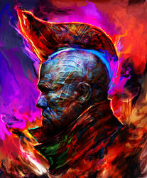 Guardians of the galaxy, Yondu by Ururuty
