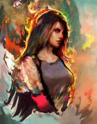 Tifa Lockhart by Ururuty