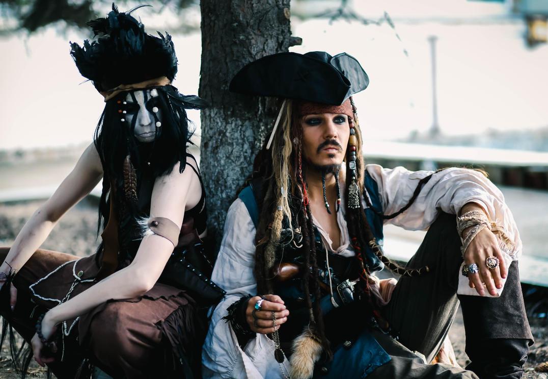 Tonto and Jack Sparrow by Ururuty
