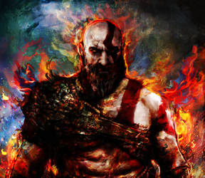 God of War by Ururuty