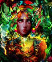 nature girl by Ururuty