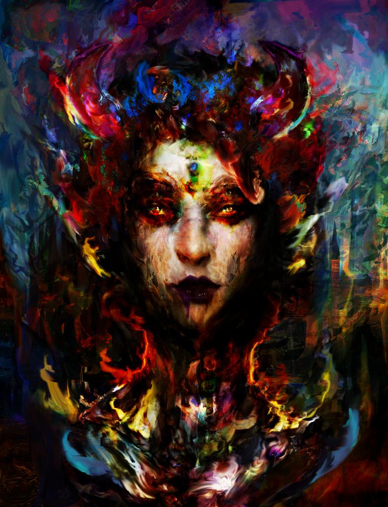 horns of autumn by Ururuty