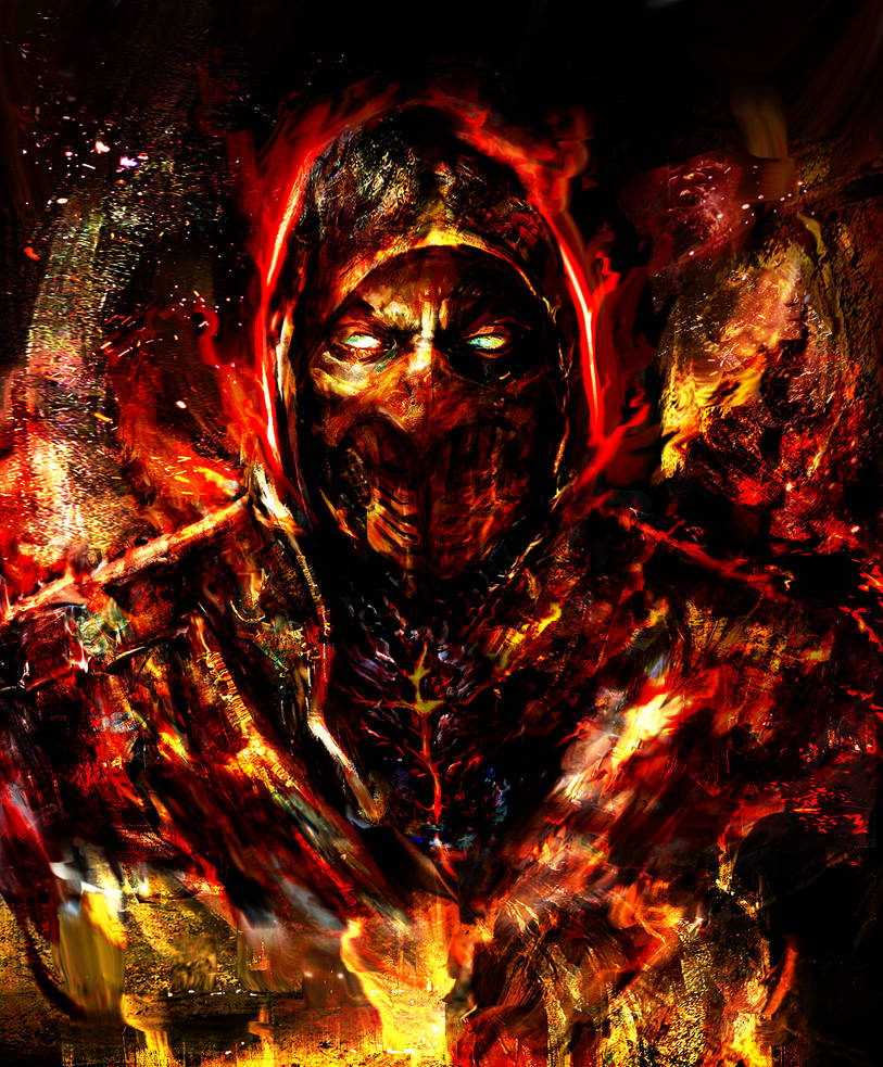 Scorpion by Ururuty