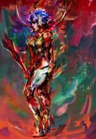 cyber Rei by Ururuty