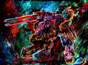 metal gear solid rex by Ururuty
