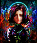 Alita battle angel by Ururuty