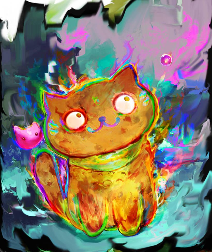 cat by Ururuty