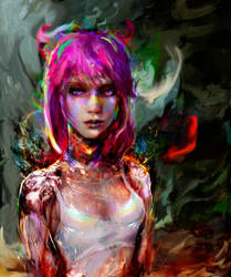 Cyberpunk 2077 by Ururuty