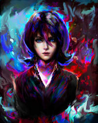 Rukia Kuchiki by Ururuty