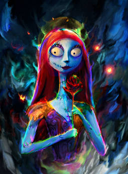 Nightmare Before Christmas. Sally