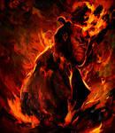 Hellboy by Ururuty