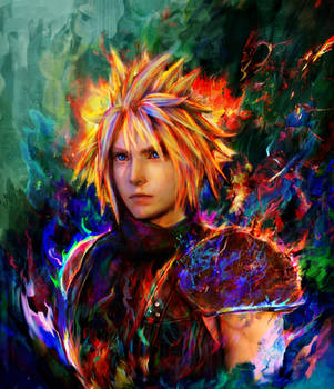 final fantasy vii Cloud by Ururuty