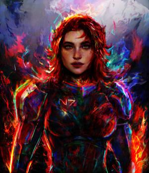 mass effect female Shepard