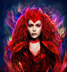 Scarlet Witch. Wanda