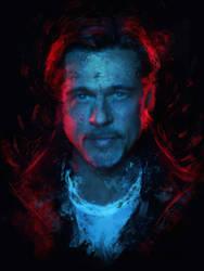 Brad Pitt by Ururuty
