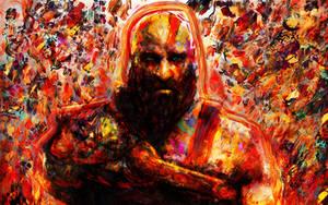God of war. Kratos